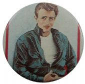 James Dean - 'James White' Button Badge